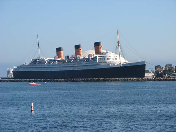 The Queen Mary ship