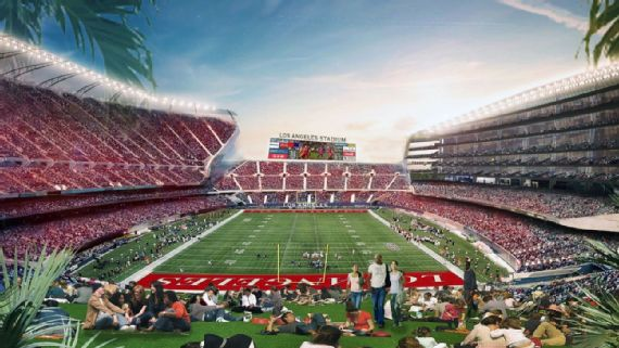 The new stadium project would be headed by Bob Iger
