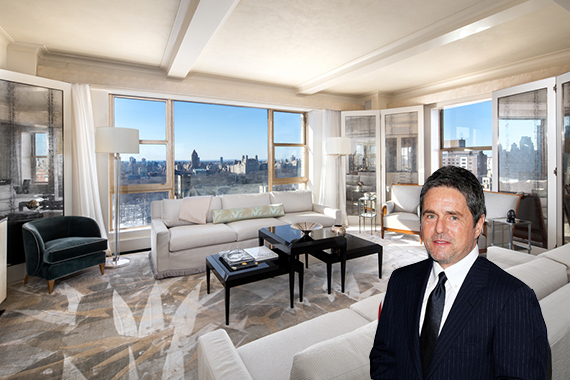 Brad Grey and his apartment at the Carlyle hotel