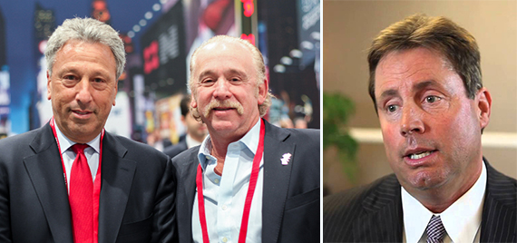 From Left: NGKF's Barry Gosin, James Kuhn and Kevin Shannon