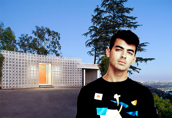 Joe Jonas and his Beverly Hills abode