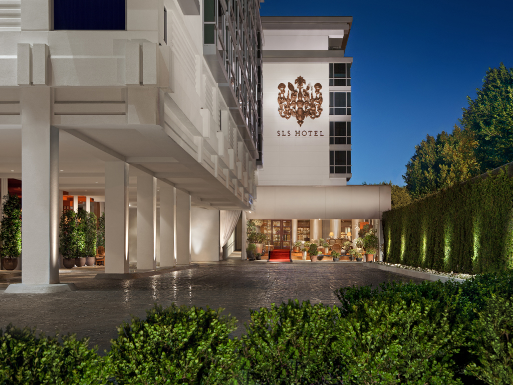 The SLS hotel in Beverly Hills