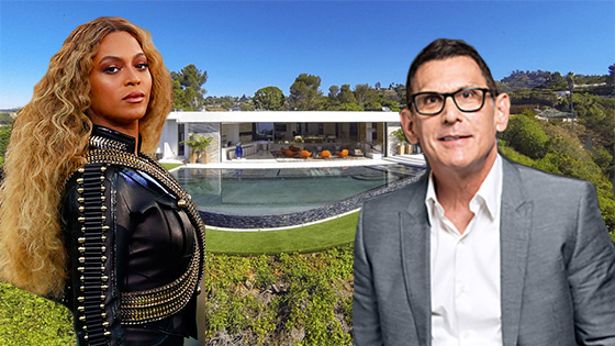 Beyonce Los Angeles home