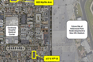 Map of Universe holdings two newest aquistions in Inglewood