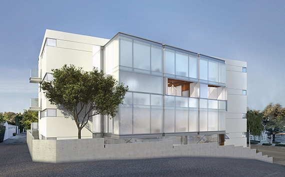 A rendering of the Mr. C residences