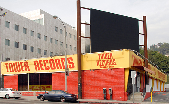 Tower Records Sunset Strip