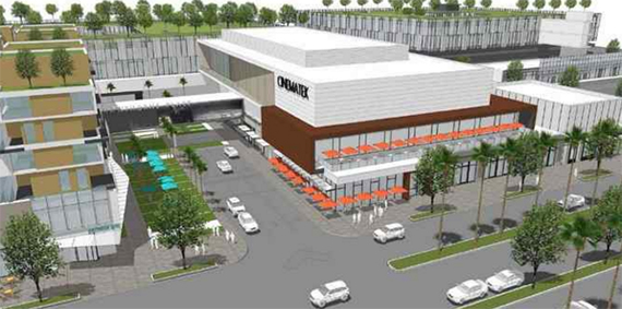 A rendering of the new complex