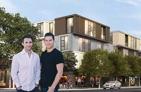 Runyon founders Joey Miller and David Fishbein and a rendering of Platform