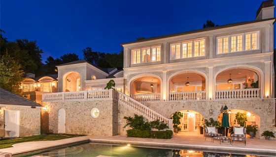 A property listed at 14215 Evans Road in Pacific Palisades (credit- the Agency)