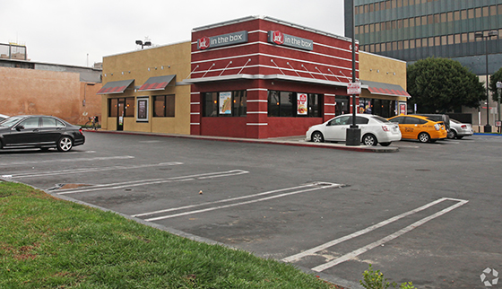 Jack in the Box 6409 Sunset Boulevard in Hollywood R.D. Olson