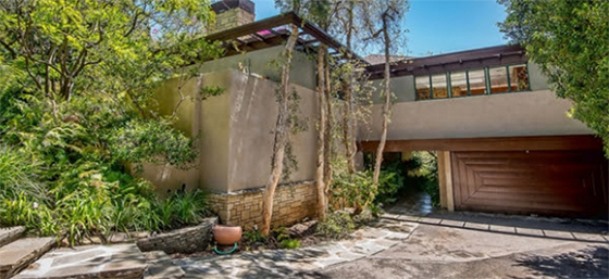 Warwick Evans House at 12036 Benmore Terrace in Brentwood