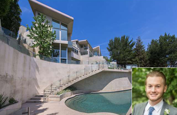 John Powers Middleton and the Mulholland Drive property