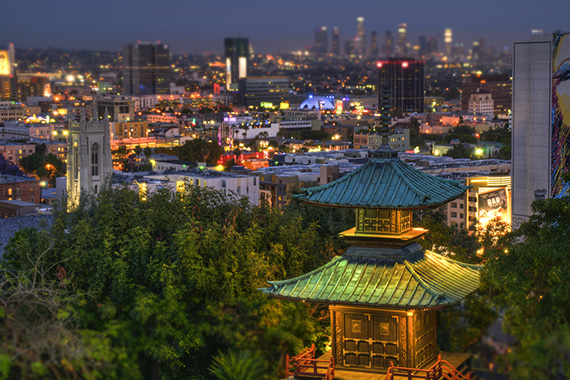 The Yamashiro restaurant