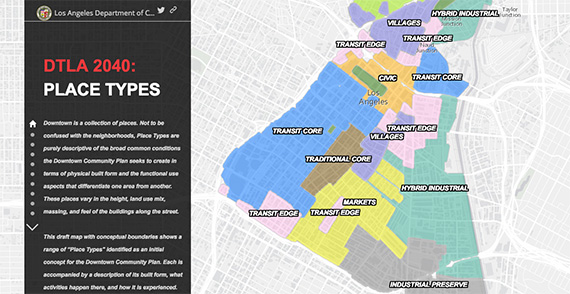 The Place Types map (credit: DTLA2040.org)