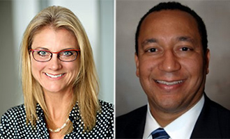 Belay Investments principal manager Suzanne West and Arc Capital co-founder Quincy Allen