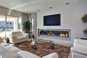 A room inside Ice Cube's house in Marina del Rey (credit: Splash)