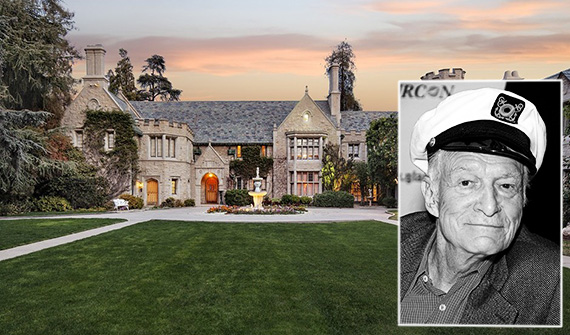Hefner and the Playboy Mansion