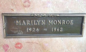 A plot of land is listed near Westwood Village Memorial Park Cemetery, where Marilyn Monroe is buried