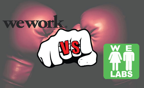 WeWork and WE Labs logos (graphic: Lexi Pilgrim)