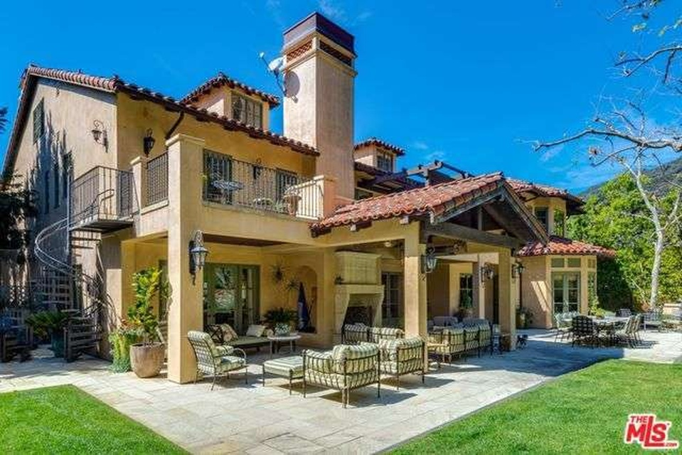 The Pacific Palisades home
