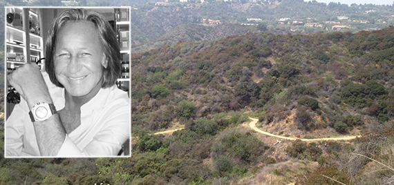 Mohamed Hadid and the Hastain Trail at Franklin Canyon