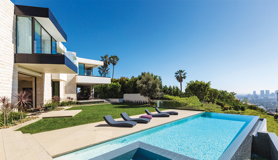 Located north of Sunset Boulevard, a spec home at 9133 Oriole sold for $27 million.