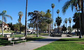 City Terrace Park in East L.A. (Credit: Big Orange Landmarks)