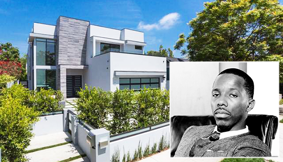 Rich Paul and his new pad at 822 North Laurel Avenue (Credit: Redfin, Kareem Black, c/o The Black Cager)