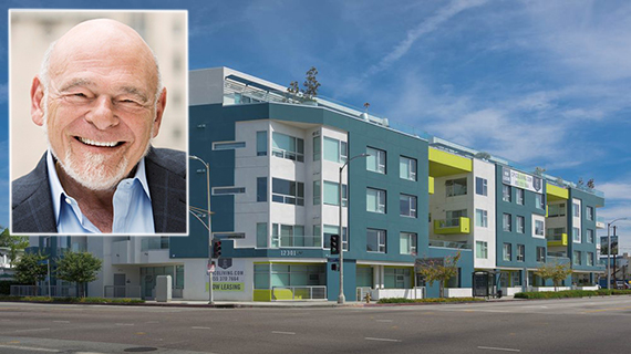Equity Residential's Sam Zell and the C on Pico apartments at