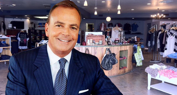 Rick Caruso and inside the P2 store (Credit: Twitter, Yelp)