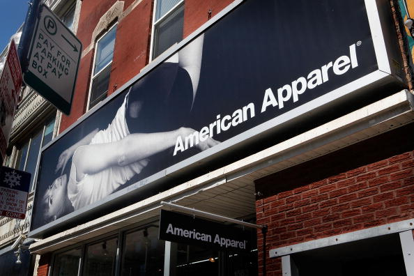 American Apparel sign (credit: Getty Images)