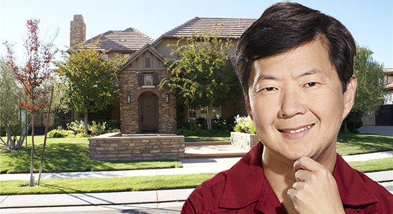 Ken Jeong and his new home at 25225 Prado De Rosado (Credit: Alchetron, Trulia)