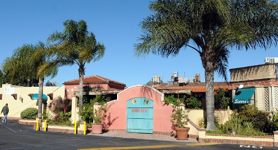 Sierra's restaurant, which closed in late 2012 (Credit: Pinterest)