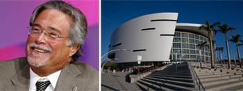 Micky Arison and AmericanAirlines Arena