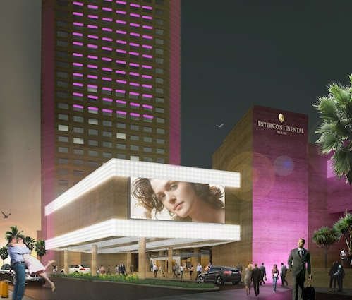 Intercontinental miami hotel unveiling 30 million in for Achat maison miami