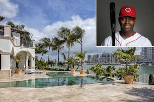 Former marlins shortstop edgar renteria sells allison for Achat maison miami