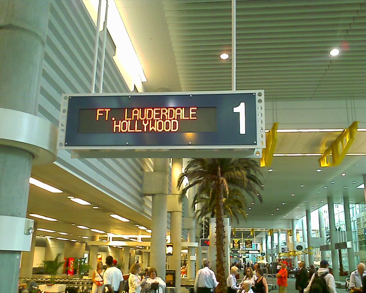 Fort Lauderdale Hollywood International Airport Renovation