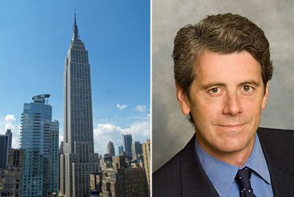 From left: the Empire State Building and Anthony Malkin of Malkin Properties