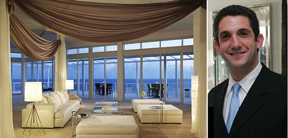 From left: interior at One Thousand Ocean in Boca Raton, Fla., and Luxury Resorts' Jamie Telchin