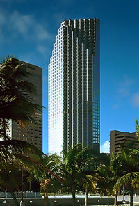 Southeast Financial Center in downtown Miami