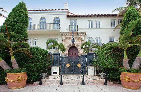 The former Versace Mansion