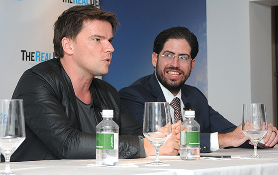 Panelists Bjarke Ingels and David Martin