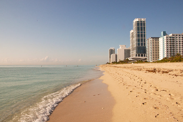 Miami Beach (Credit: Daniel Chodusov on Flickr)