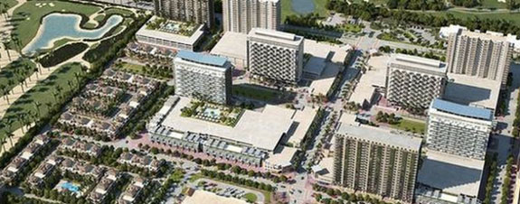 A rendering of Downtown Doral