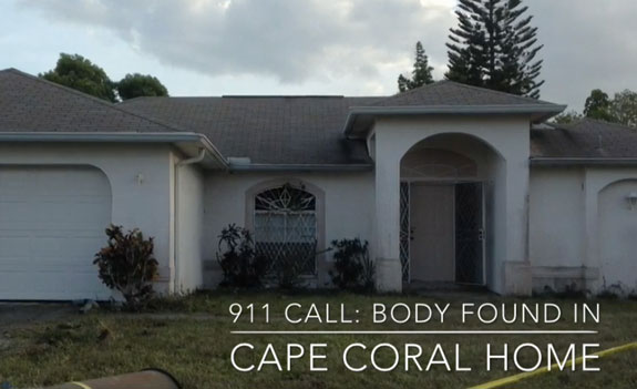 The home on SE 19th Lane in Cape Coral