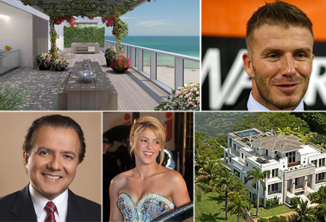 Pictures of celebrity homes in miami