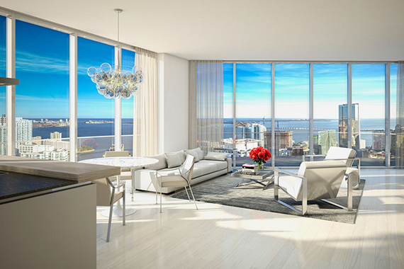 Rendering of the Brickell Flatiron