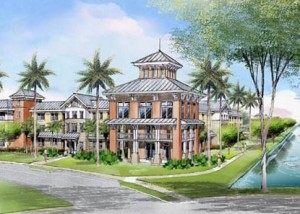 Rendering of Institute for Healthy Living in Abacoa
