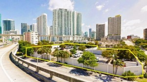Vacant lot at 201 Southwest Second Avenue in Miami