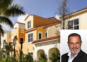 Villas at Antique Row in West Palm Beach and developer Harry Posin